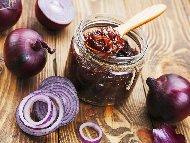 Рецепта Сладко / мармалад от червен лук